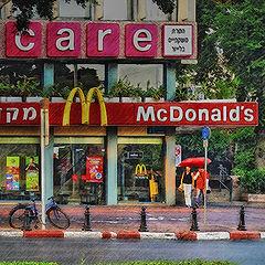 """photo """"McDonald's summer rain..."""""""