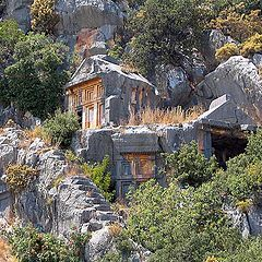 "photo ""Tombs of Lycia"""