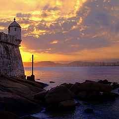 "фото ""A colored sunset..."""