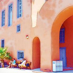 "photo ""Greek Scenery"""