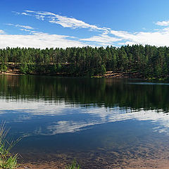 "photo ""Rainbow lake"""