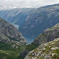 """photo """"Norway fjords"""""""