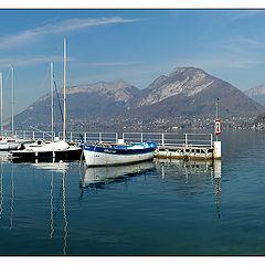 """фото """"Panoramic View : Annecy Lake"""""""