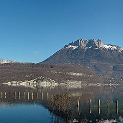"фото ""Panoramic Wiew : Annecy Lake"""