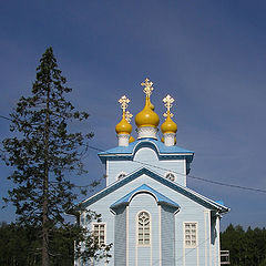 """фото """"Храм (монастырь в Лодьме)"""""""
