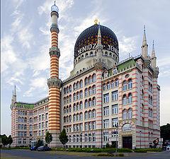 """фото """"Yenidze Building, Dresden"""""""