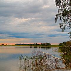 """фото """"Рассвет над озером"""""""
