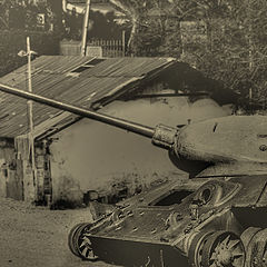 """photo """"A la guerre comme a  la guerre"""""""