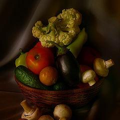 """фото """"Натюрморт с овощами"""""""