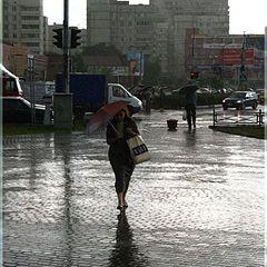 """фото """"Дождь в городе."""""""
