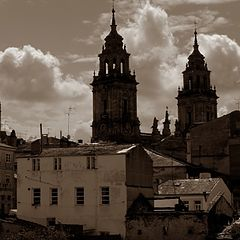 """фото """"old place in Lugo"""""""