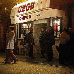 "фото ""CBGB"""