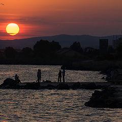 "фото ""Black Sea Sunset"""