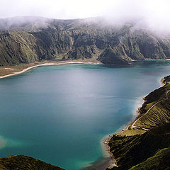 "фото ""Lagoa de Fogo"""