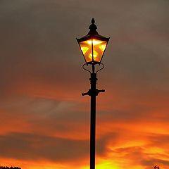 """фото """"Lamp at Dusk"""""""