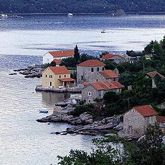"""photo """"Sea coast of Montenegro"""""""