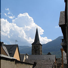 "photo ""Small town in the Pyrenees"""