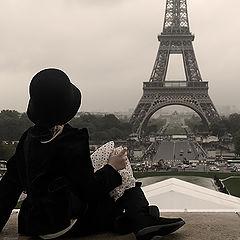 """photo """"Rain in Paris"""""""
