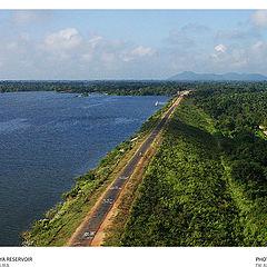 "photo ""Rajanganaya Reservoir"""