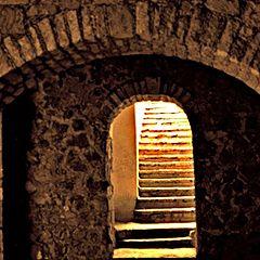 "photo ""Street exit in Guanajuato"""