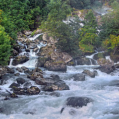 "photo ""Mountain river"""