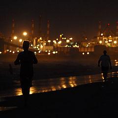 """photo """"Night Runners"""""""