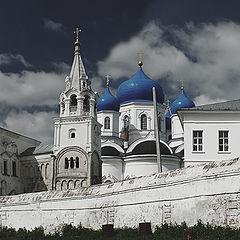 """фото """"Монастырь в Боголюбово"""""""