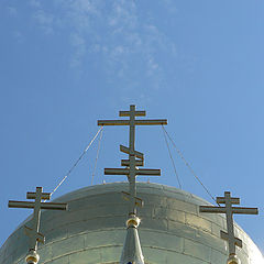 "photo ""Symbol of the faith (1+1+1=3=1)"""