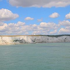 "фото ""The White Cliffs of Dover"""