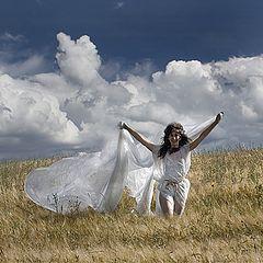 "фото ""Заклинательница дождя"""