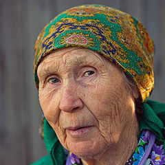 """photo """"From a series of """" the Person of Russian village """""""""""