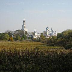 """фото """"Осень у монастыря."""""""