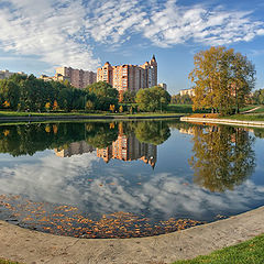 "photo ""Autumn in Moscow"""