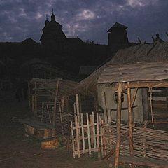 """фото """"Козацьке містечко ввечері"""""""