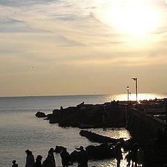 "фото ""sunset in Boccadasse"""
