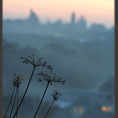 """photo """"Quiet evening in Borovsk"""""""