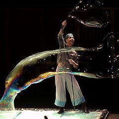 """фото """"шоу мыльных пузырей"""""""