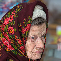 """photo """"In rural shop. From a series of """" the Person of Russian village """""""""""
