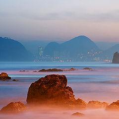 "photo ""Fire on The Rocks"""