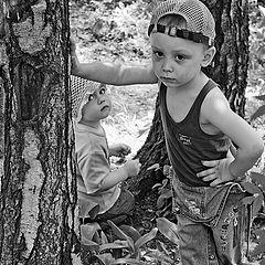 """фото """"Мальчик и девочка"""""""