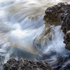 """photo """"Wave's foam"""""""