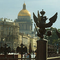 """photo """"...and Isaak cathedral in back"""""""