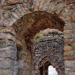 "photo ""Koknese castle"""