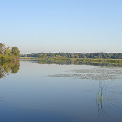 "photo ""Old channel of the Great river"""