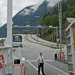 """photo """"Norway and Norwegians. Oarsmen"""""""