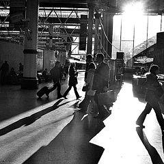 "photo ""London / Waterloo station"""