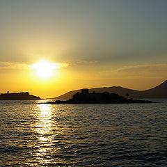 """photo """"A perfect sunset"""""""