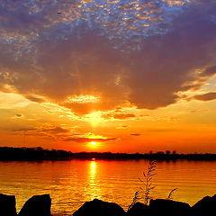 "photo ""Sunrise Over City Island"""