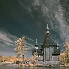 """фото """"Церквушка на острове ИК"""""""