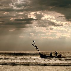 """фото """"Coming back from the fishing..."""""""